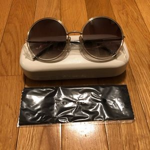 NWT Marc Jacobs 56mm Round Sunglasses